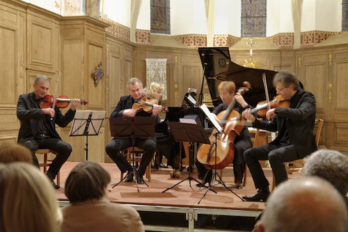 Concert Ensemble Musique Oblique à l'église de Méré le 17 novembre 2013