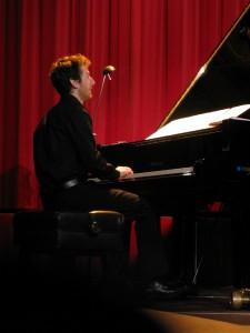 Clément GRIFFAULT au piano...