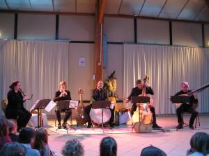 """L'ensemble des """"Musiciens de Mlle De Guise""""..."""