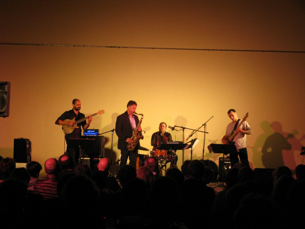 Sylvain BEUF et son quartet... Ambiance !