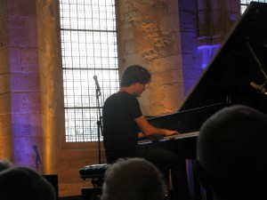 Thomas ENHCO au piano...