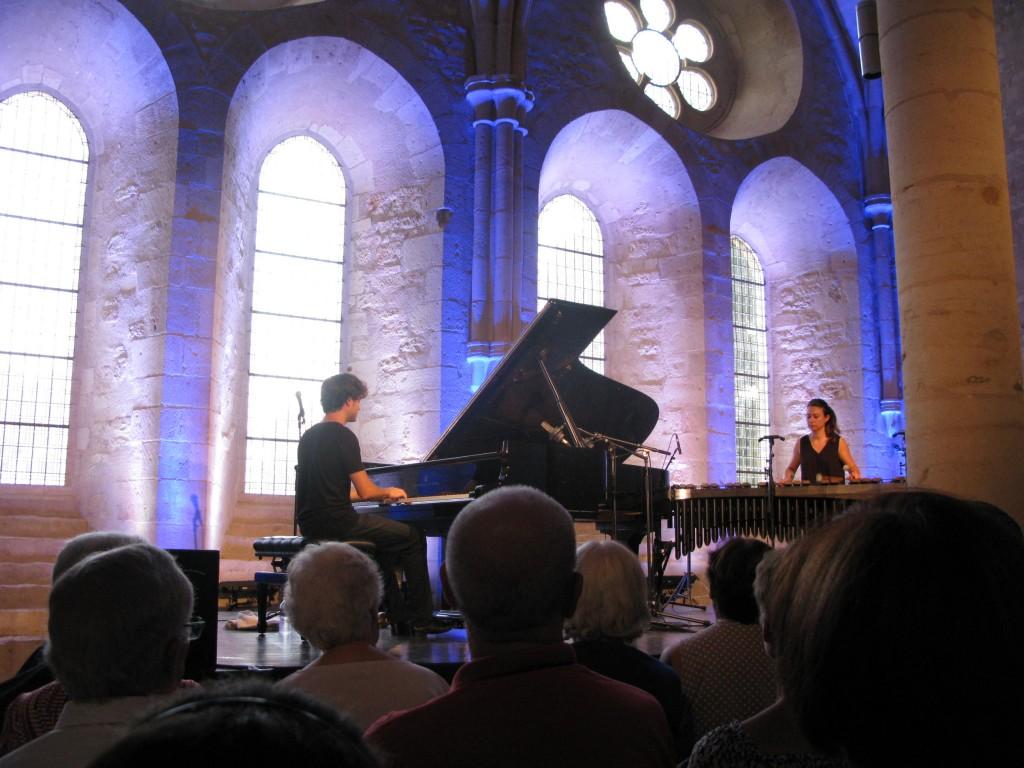 Thomas ENHCO au piano - Vassilena SERAFIMOVA au marimba...