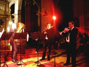 Pascal GONZALES (trombone) - Adrien RAMON (trompette/cornet)