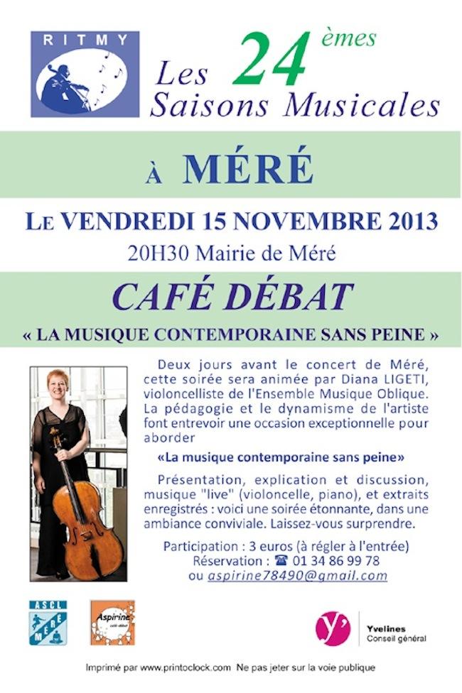 Café-débat à Méré avec