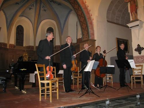 Le quatuor à cordes et la clarinette virtuose de Rémi LERNER...
