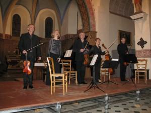 Quatuor à cordes et piano... Accord parfait !