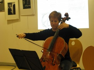 Diana LIGETI au violoncelle...