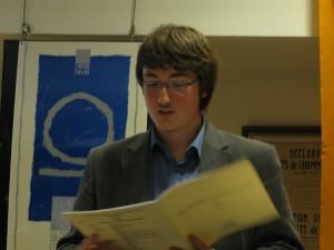 ...et Philippe HATTAT, entre piano et explications...